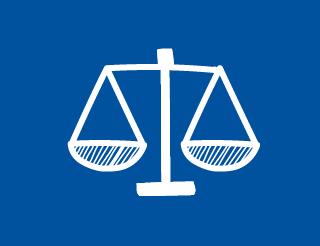 Image d'une balance, symbole de la justice